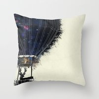 Journey To The Woodlands Throw Pillow