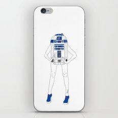 Girl R2-D2 iPhone & iPod Skin