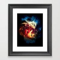Surface To Air Framed Art Print