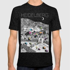 Locals Only - Heidelberg… Mens Fitted Tee Tri-Black SMALL