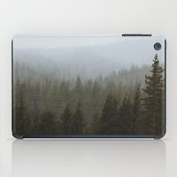 Snowy Forks Forest iPad Case
