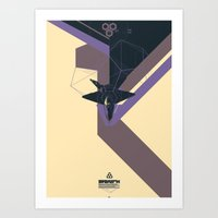 STEALTH:YF-23 Blackwidow… Art Print
