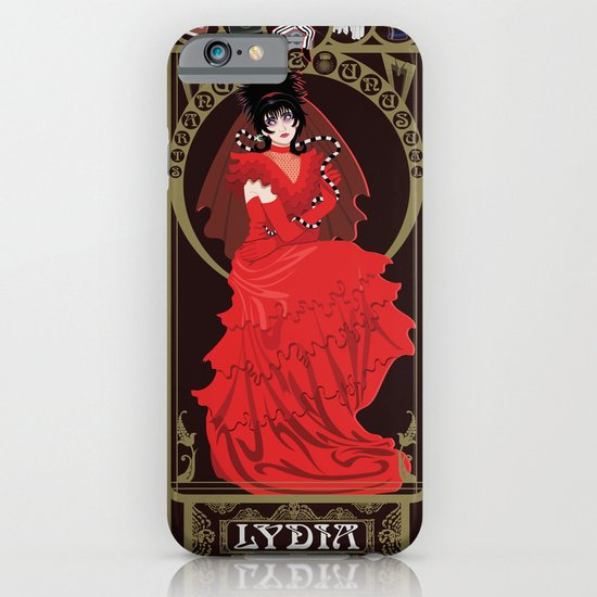 Lydia Nouveau - Beetlejuice iPhone & iPod Case
