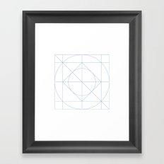 #205 Harmony – Geometry Daily Framed Art Print