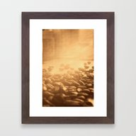 Coffee Impression Retro Framed Art Print