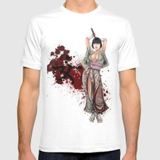 Kunoichi 1 of 4 Mens Fitted Tee SMALL White