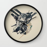 Avalanche Wall Clock