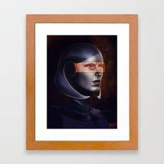 Mass Effect: EDI Framed Art Print