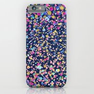 Gold Confetti Color Blur… iPhone 6 Slim Case