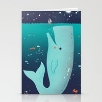 Jonah And The Whale Stationery Cards