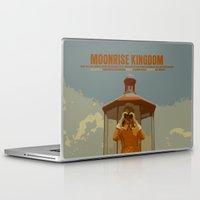 moonrise kingdom Laptop & iPad Skins featuring Moonrise Kingdom by FunnyFaceArt