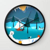 River Island Wall Clock