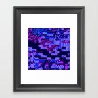Taintedcanvas165 Framed Art Print