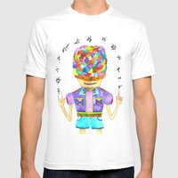 Young Magic Mens Fitted Tee White SMALL
