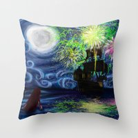 Part Of That World Throw Pillow