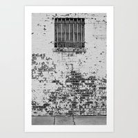 All in all its just another brick in the wall... Art Print