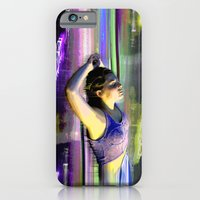 iPhone Cases featuring Electric Lady by Kris Klein