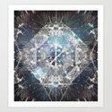 COSMIC NATURE II Art Print