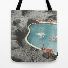 is this the place that they call paradise? Tote Bag