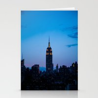 Empire State Building At… Stationery Cards