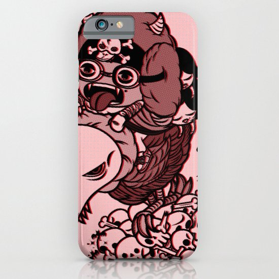 Captain Duckula the Third iPhone & iPod Case