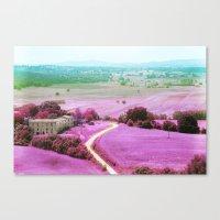 Tuscan Mars Canvas Print