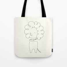 Love Yourself Lion Tote Bag
