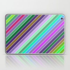 Happy diagonal lines Laptop & iPad Skin