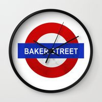 Sherlock Baker Street Pr… Wall Clock