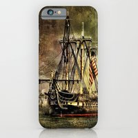 Tall ship USS Constitution iPhone 6 Slim Case