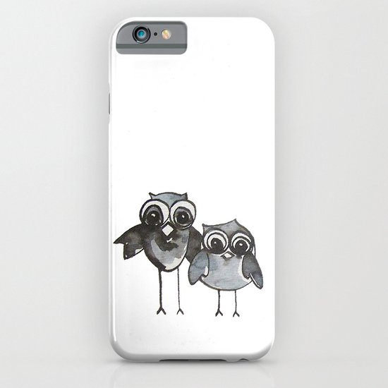 Two Feathered Friends iPhone & iPod Case