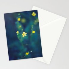 yellow wildflowers Stationery Cards