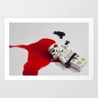 Death Of Stormtrooper St… Art Print