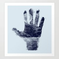 High Five World Art Print