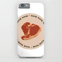 Steak...Nom Nom Nom! iPhone 6 Slim Case
