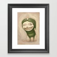 Smile No Matter What Framed Art Print