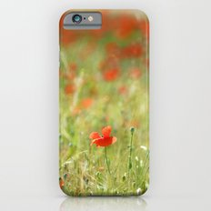 the first poppy of the field Slim Case iPhone 6s