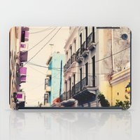Colorful Buildings Of Ol… iPad Case