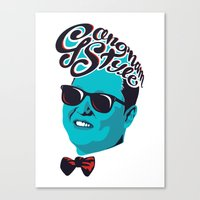Gangnam Style Canvas Print