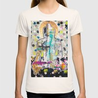 Buddha  Womens Fitted Tee Natural SMALL