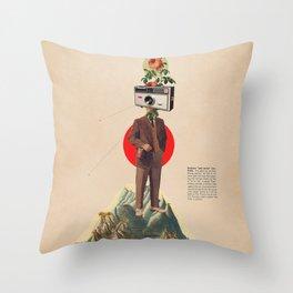 Throw Pillow - InstaMemory - Frank Moth