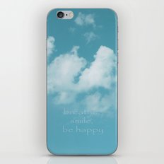 Blue Sky Meditation iPhone & iPod Skin