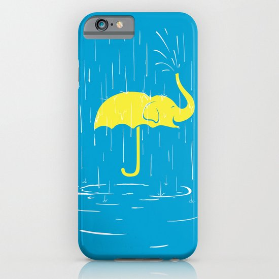 Umbrellaphant iPhone & iPod Case