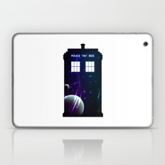 Space in TARDIS Laptop & iPad Skin