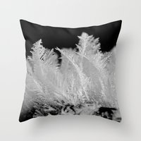 like feathers Throw Pillow