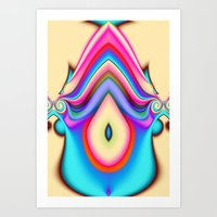 Acid Drop 3 Art Print