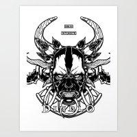 Diablo III. Witch Doctor Art Print