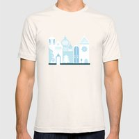 The Ice Castle Mens Fitted Tee Natural SMALL