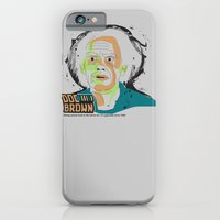 iPhone & iPod Case featuring Doc Brown_INK - Back to the Future by Urban Punk - Matt Skelnik