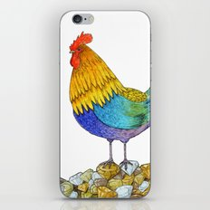 The Cockerel and The Jewel iPhone & iPod Skin